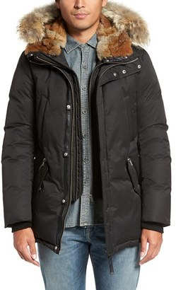 Men's Mackage 'Edward' Down Parka With Genuine Coyote And Rabbit Fur Trim $1,150 thestylecure.com