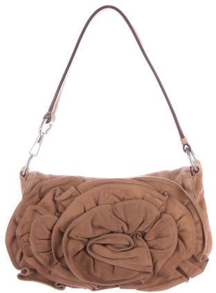 Saint LaurentYves Saint Laurent Suede Shoulder Bag