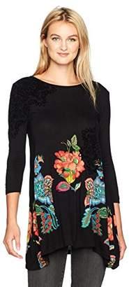 Desigual Women's Amona Woman Knitted Long Sleeve T-Shirt