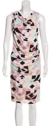 Robert Rodriguez Printed Midi Dress