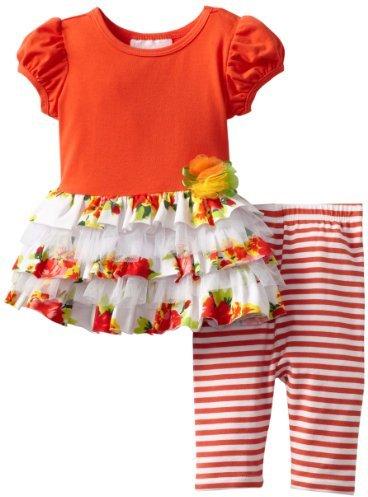 Bonnie Baby Girls Infant Knit Mesh Le...