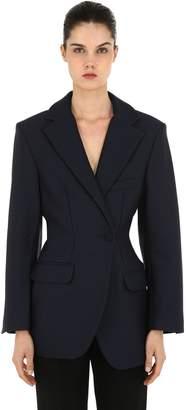 Jacquemus Cool Wool Draped Blazer