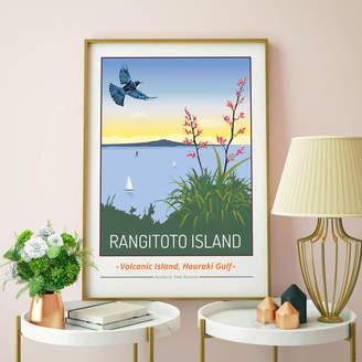 Tabitha Mary Rangitoto Island, Auckland, New Zealand Print
