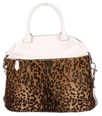 Max Mara Ponyhair Handle Bag