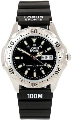 Lorus Sports Silver Watch RXN33BX-9