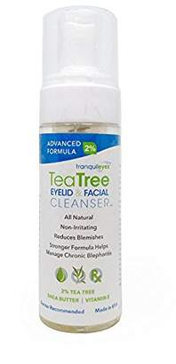 Unknown Advanced Formula Tea Tree Eyelid and Facial Cleanser (180 mililiters)