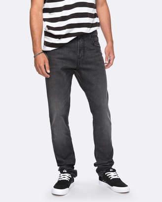 Quiksilver Mens Distorsion Black Slim Fit Jean