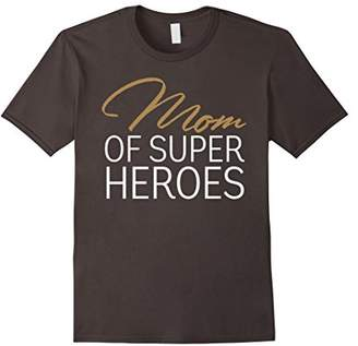 Funny Mom Of Super Heroes T Shirt