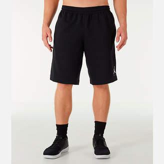 Nike Men's Jordan HBR Fleece Basketball Shorts