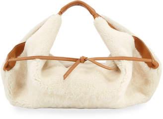 3.1 Phillip Lim Luna Mini Slouchy Shearling Tote Bag