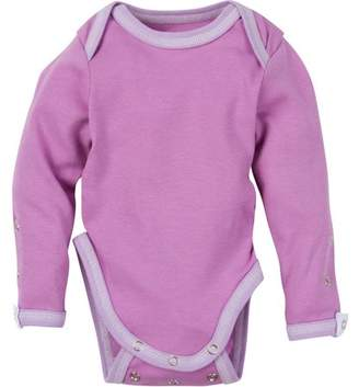 Miraclewear Newborn Baby Unisex Snap'N Grow Adjustable Long Sleeve Body Suit