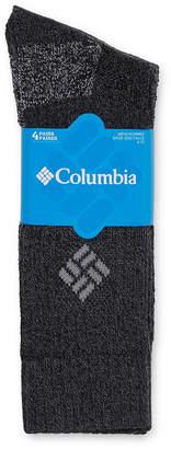 Columbia Men's 4-pk.Cotton Ribbed Crew Sock