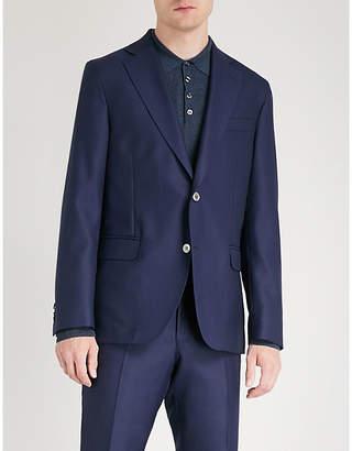OSCAR JACOBSON Ferry regular-fit wool blazer