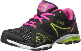 Ryka Women's Vida Rzx Cross-Training Shoe, Black Pink/Lime Blaze