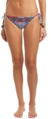 LaBlanca La Blanca Reversible Flora String Bikini Bottom