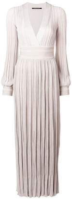 Valenti Antonino pleated long dress