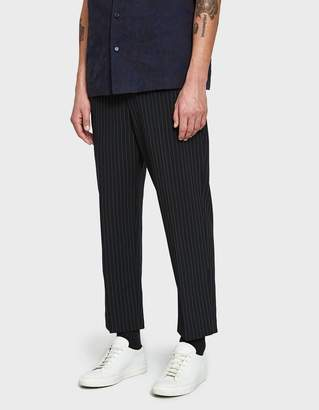 Need Black/White Pinstripe Loose Fit Trouser