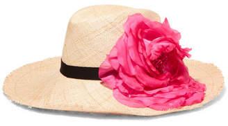 Eugenia Kim - Ailin Embellished Straw Hat - Sand $415 thestylecure.com