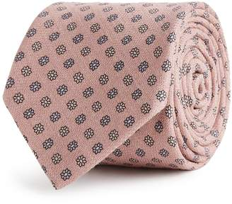 Reiss SHELDON SILK TIE Pink