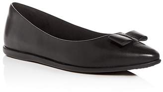 Cole Haan Women's 3.ZeroGrand Leather Pointed Toe Ballet Flats