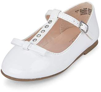 Children's Place The Ballet Flate Girl's Kayla Toe Cap Flat (Little Kid/Big Kid)