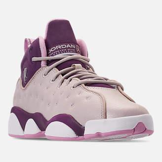 Nike Girls' Big Kids' Jordan Jumpman Team II (3.5y-9.5y) Basketball Shoes