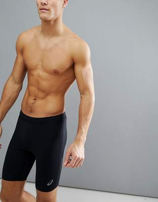 Asics Running Compression Shorts In Black 134095-0904