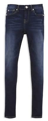 7 For All Mankind Girls' Dark-Wash Skinny Jeans - Big Kid