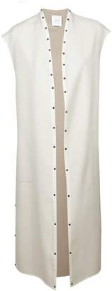 Agnona Studded Long Coat