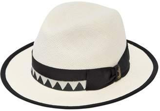 Borsalino Quito Medium Brim Straw Panama Hat
