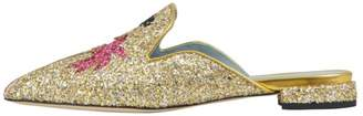 Chiara Ferragni Suit Life Pointed Slippers
