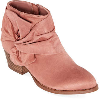 CL BY LAUNDRY CL by Laundry Womens Cuddles Booties Stacked Heel