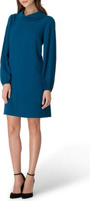 Tahari Crepe Shift Dress