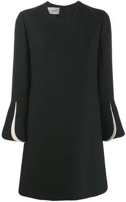 Valentino layered sleeves couture dress