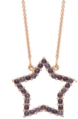 Lola Rose London - Star Medium Charm Necklace Iolite