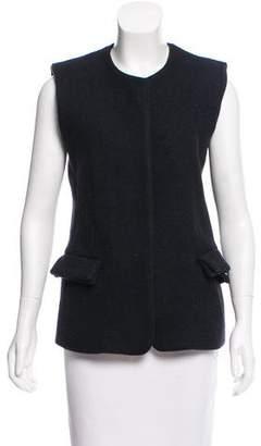 Calvin Klein Collection Cashmere Open Front Vest