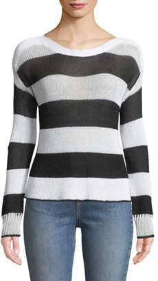 Rag & Bone Allie Striped Boat-Neck Sweater