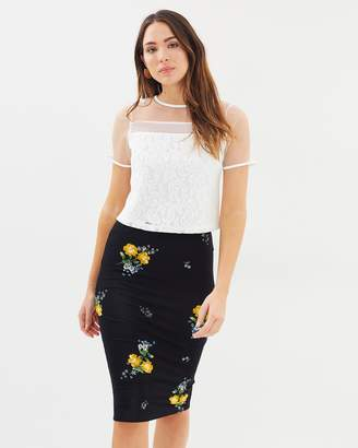 Dorothy Perkins Ditsy Polly Floral Skirt