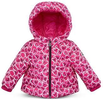 Moncler Girls' Heart & Logo Puffer Coat - Baby, Little Kid