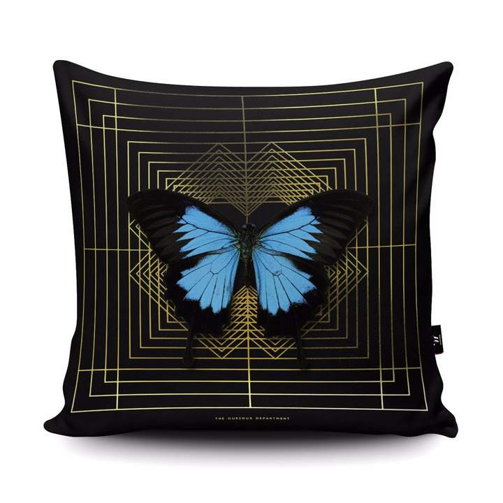 The Curious Department – Deco Square Ulysses Vegan Suede Cushion