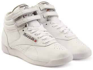 Reebok Freestyle Hi Leather Sneakers