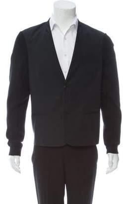 Alexander Wang Contrast Knit Blazer
