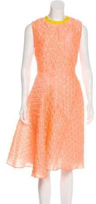 Roksanda Quilted Midi Dress