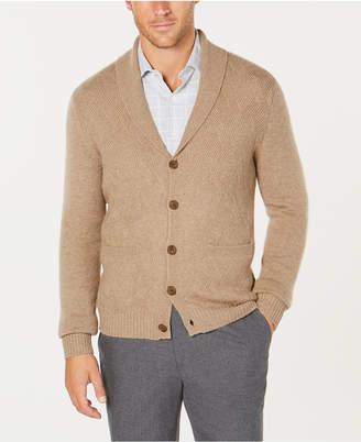 Tasso Elba Men's Pure Cashmere Cardigan