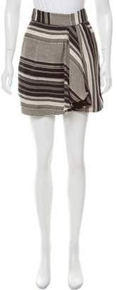 Marissa Webb Asymmetrical Mini Skirt