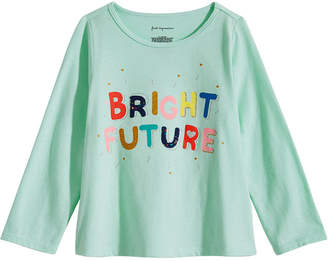 First Impressions Baby Girls Bright Future Graphic Cotton T-Shirt