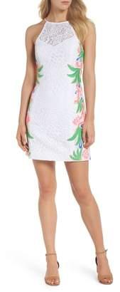 Lilly Pulitzer R) Pearl Lace Sheath Dress