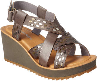 Antelope 518 Leather Wedge Sandal
