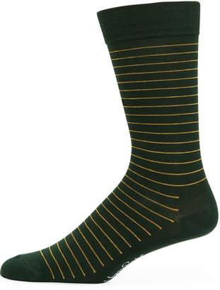 Happy Socks Men's Thin Striped Socks