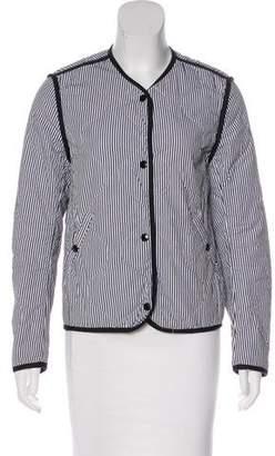 Rag & Bone Striped Casual Jacket